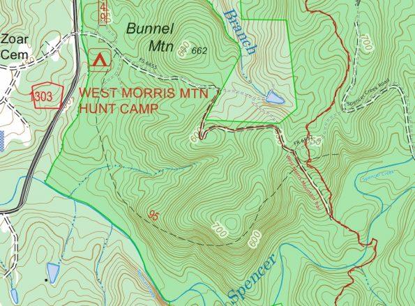 Map image courtesy of CalTopo.com.