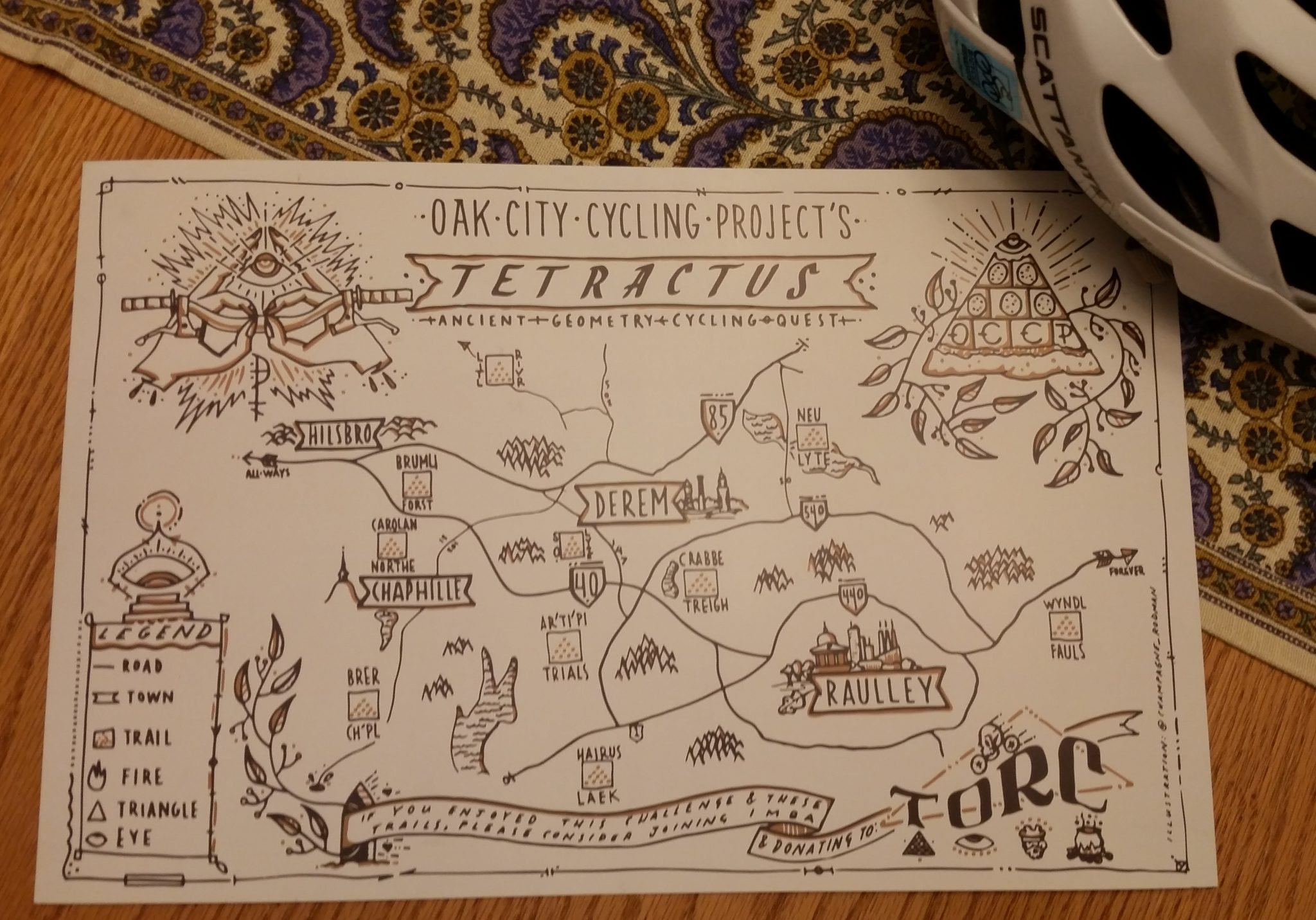 Tetractus map